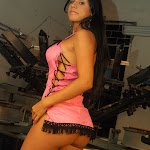 Andrea Rincon, Selena Spice Galeria 38 : Baby Doll Rosado, Tanga Rosada, Total Rosada Foto 31