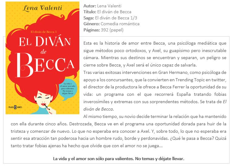 Cuchu librer a el div n de becca lena valenti for Libro el divan de becca