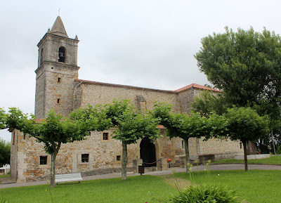 Iglesia de Sta. Eulalia en Suesa. Ribamontán al Mar. Cantabria