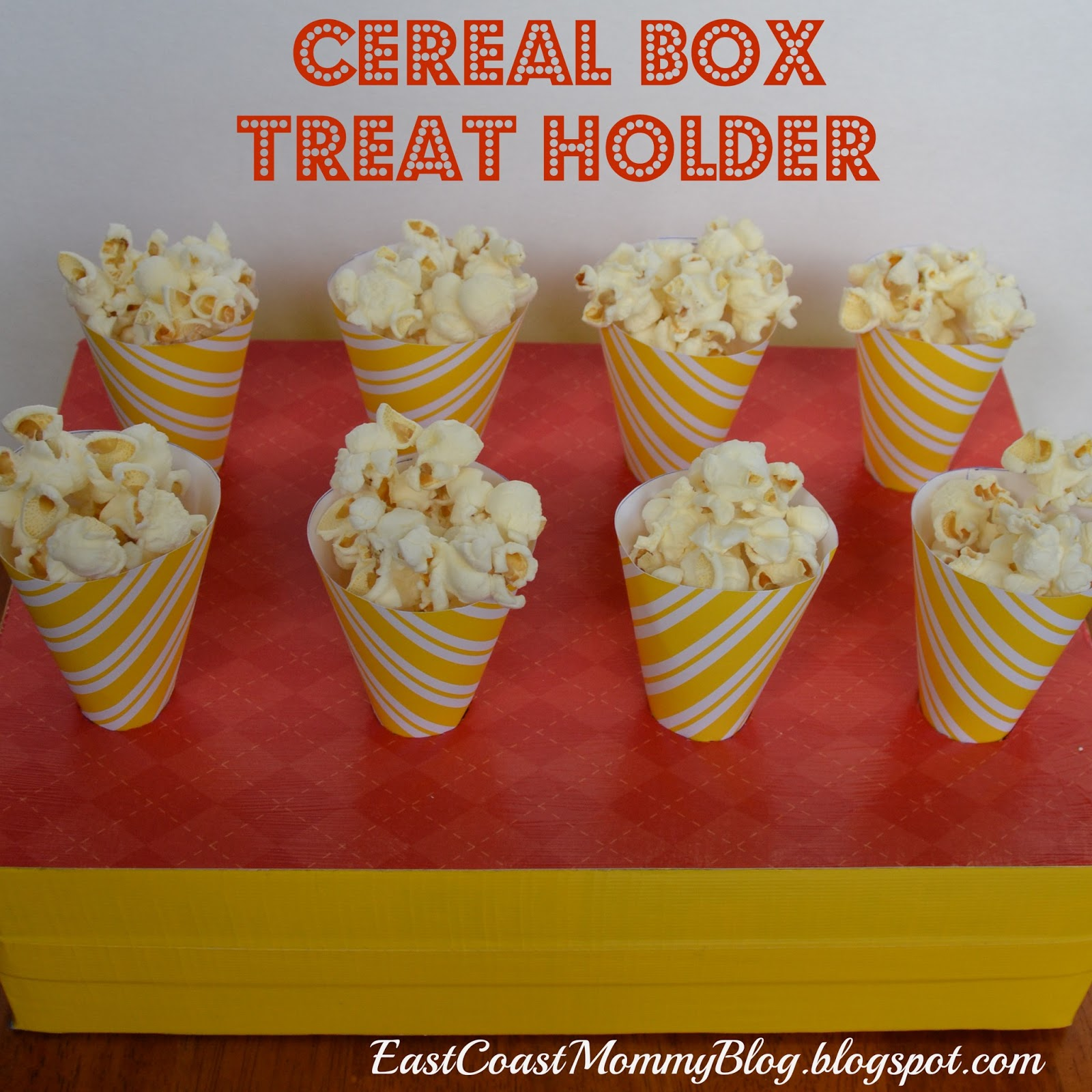 East Coast Mommy Cereal Box Treat Holder
