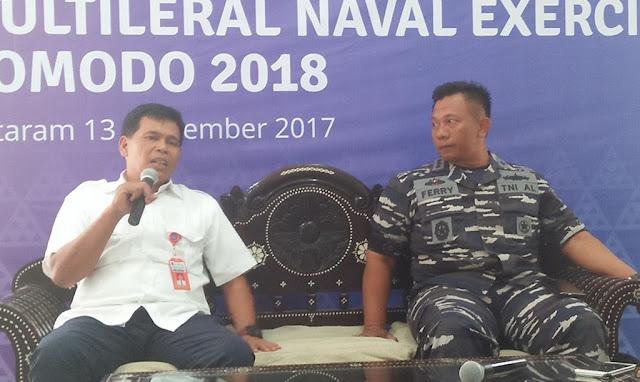 42 Kapal Perang Asing Akan Datang Ke Lombok Karena Ini