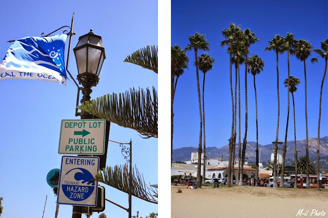 M-ii Photo : Highway #1 Californie - Santa Barbara plage