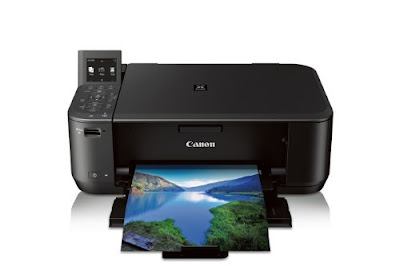 it folds upward for helpful storage too and does non soak upward quite a chip room on a counter Canon Pixma MG4220 Driver Download