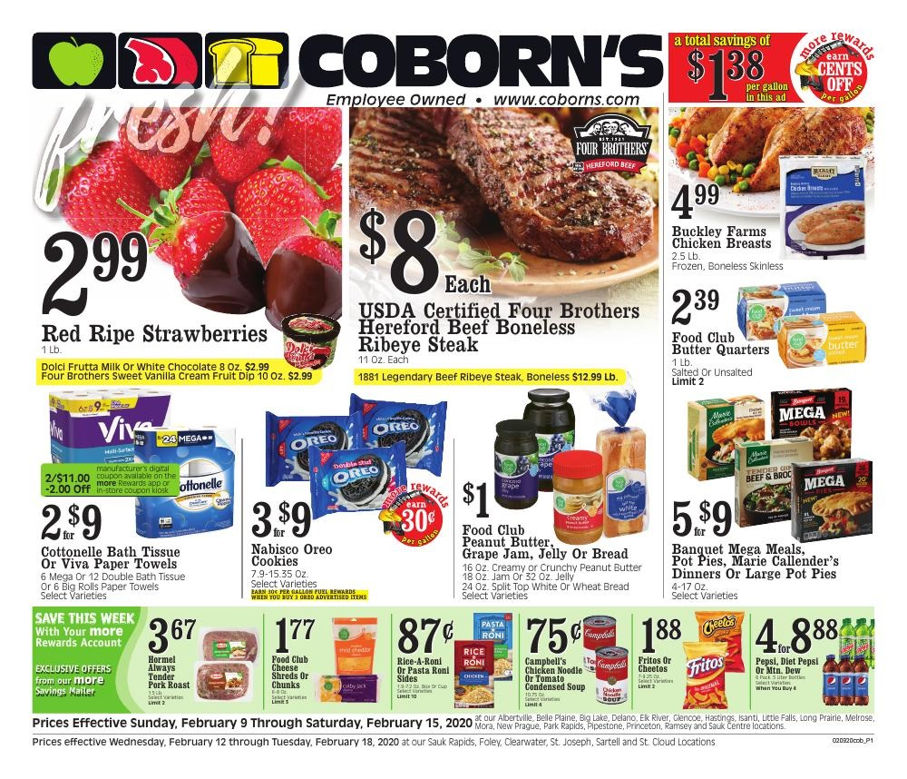 ⭐ Coborn's Ad 2/23/20 ⭐ Coborn's Circular February 23 2020