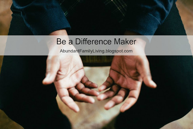 Be a Difference Maker