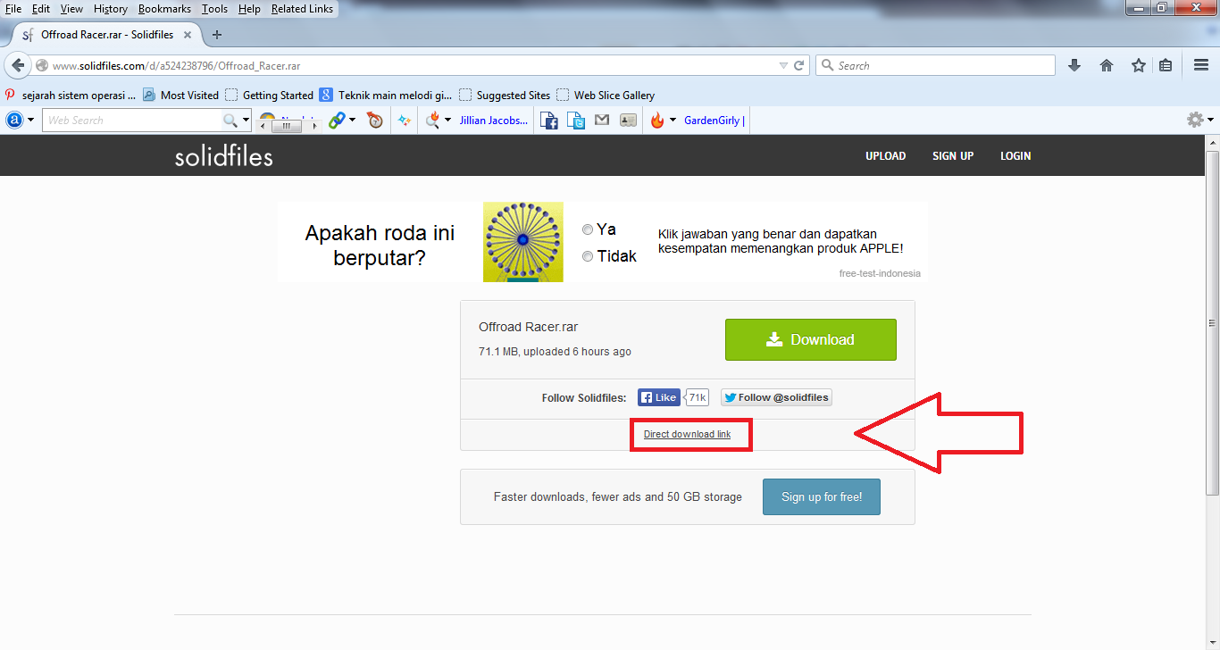 4 Cara Mudah Download File di Solidfiles