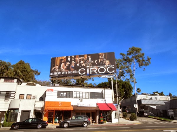 Ciroc Celebrate with the best billboard