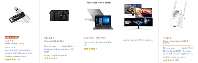 ofertas-11-febrero-amazon-dos-del-dia-cuatro-flash-seis-destacadas