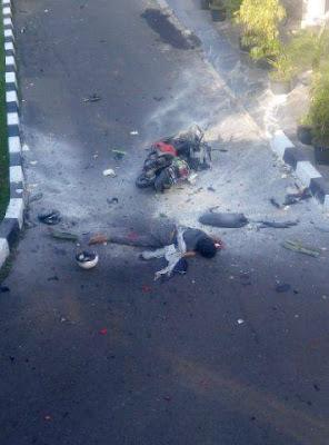Pelaku bom bunuh diri di polres Surakarta