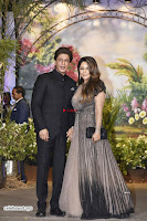 Sharukh Khan and his Wife at Sonam Kapoor Wedding Stunning Beautiful Divas ~  Exclusive.jpg