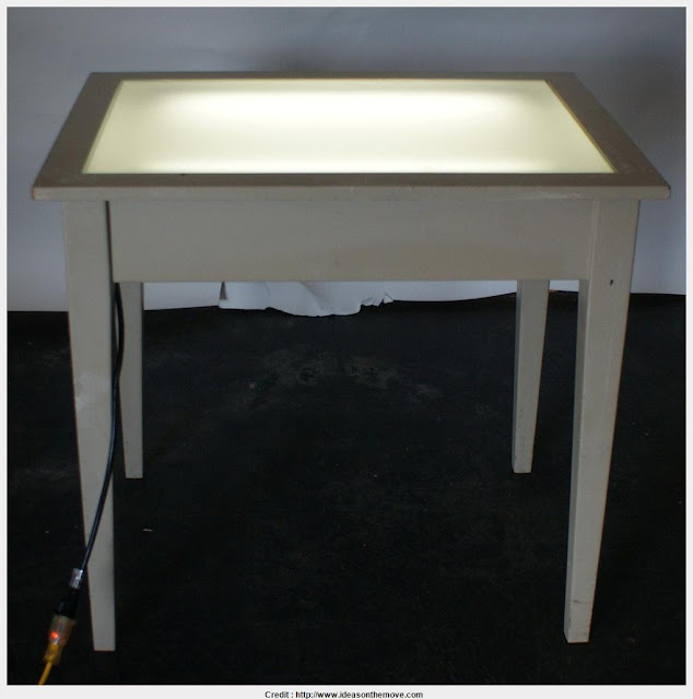 Good Drafting Table With Light Collection