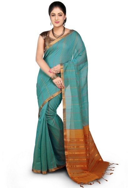 Mangalgiri handloom cotton saree