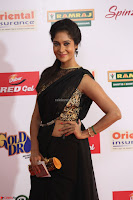 Sindhu looks fabulous in Black Saree designer choli at Mirchi Music Awards South 2017 ~  Exclusive Celebrities Galleries 025.JPG