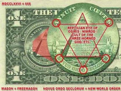 illuminati symbol us dollar