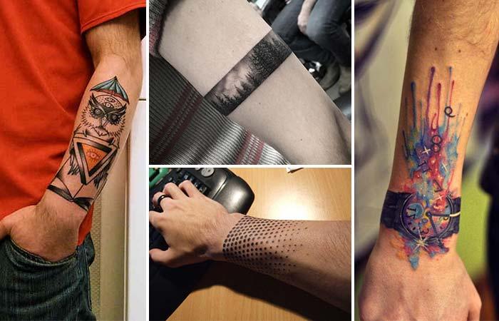 erkek bilek dövmeleri wrist tattoo for men