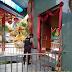 Sabhara Polres Tanah Laut Sterilisasikan Vihara Sasana Budha Angsau