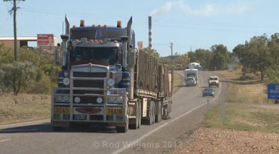 Australian road trains