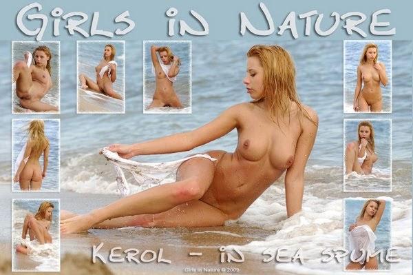 [GirlsInNature] Kerol - In Sea Spume sexy girls image jav