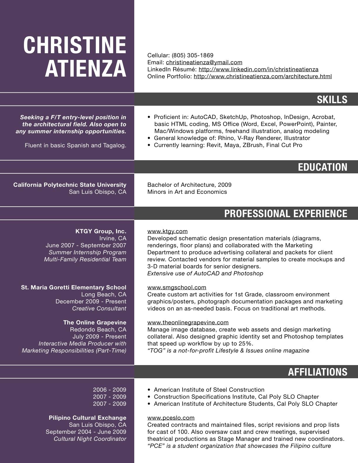 resume example greece
