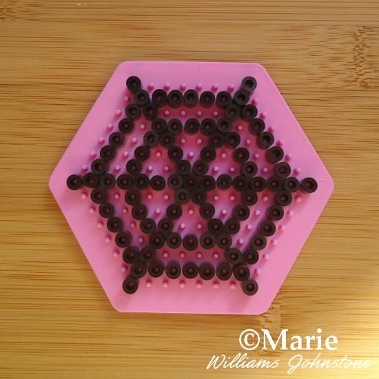 Spiders web spiderweb spider craft kids perler hama beads pattern Halloween
