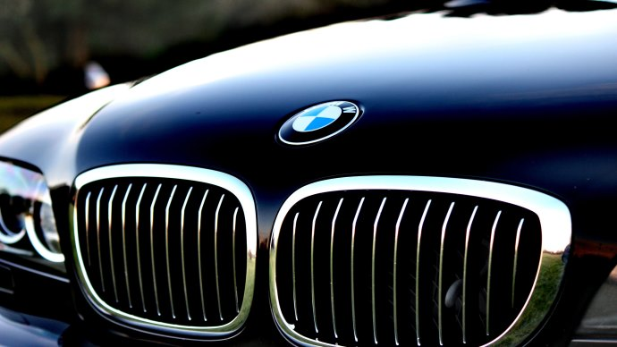 Wallpaper: Front Side of BMW Car