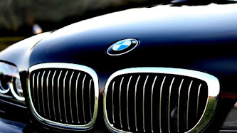 Front Side of BMW Car