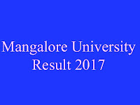 Mangalore University Exam Result 2017