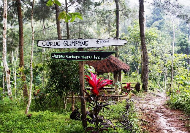 Berwisata Ke Curug Glimpang Purwosari, Girimulyo, Kulon Progo