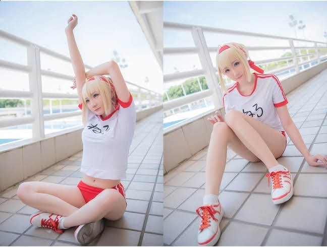 Cosplay Saber (Altria Pendragon) - Fate Series | P3