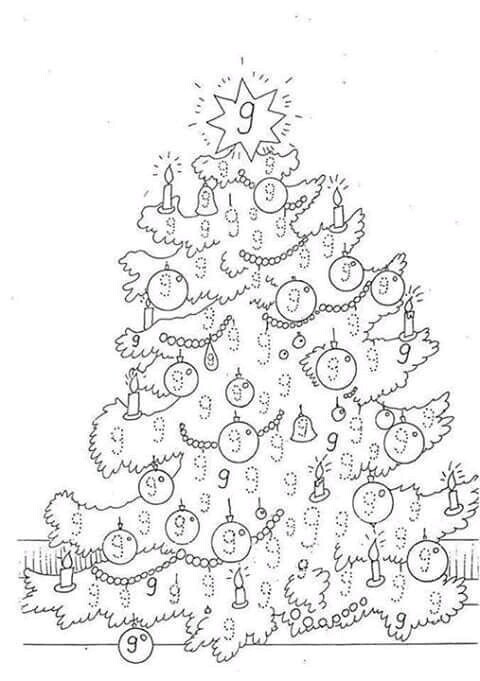 Christmas Color By Number Coloring Book For Kids: 50 Color By Numbers  Christmas Coloring Pages for Kids by Coloring Zone Press House | 681x480