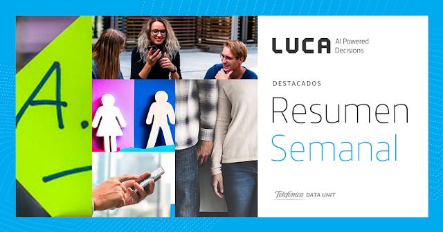 Esta semana en el blog de LUCA: del 25 al 31 de marzo