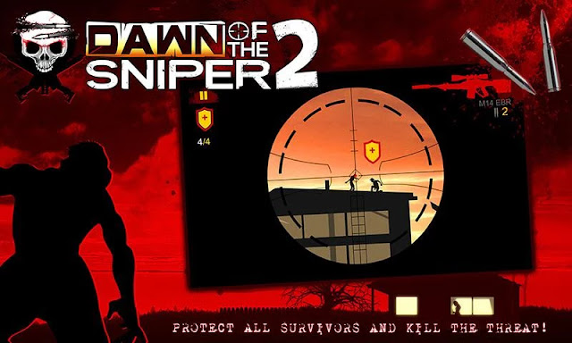 dawn of the sniper 2 hile apk indir