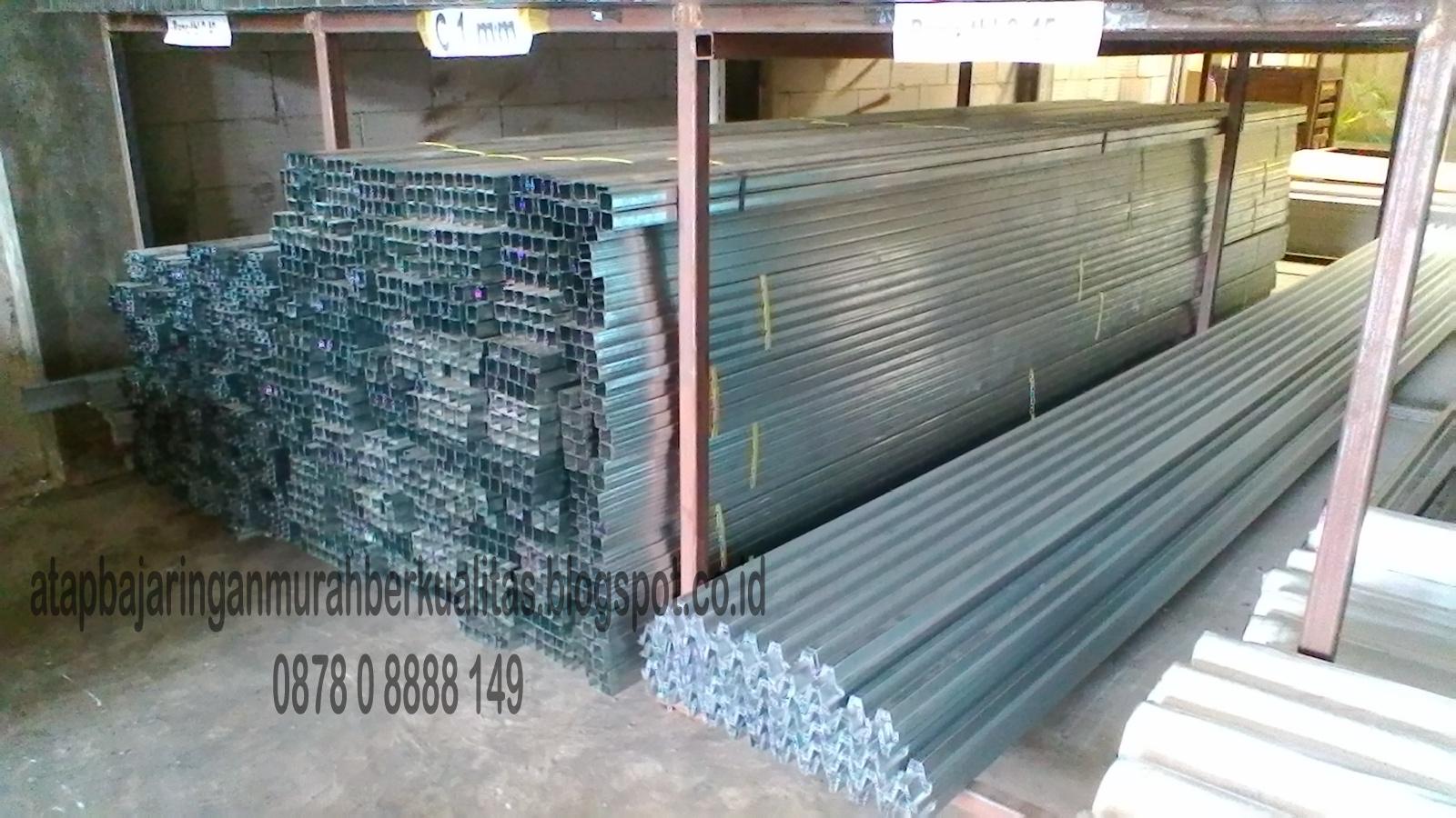 murah mana baja ringan atau kayu jual rangka atap 087808888149 perbedaan