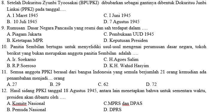 Kisi Kisi Soal Dan Jawaban Pkn Smp Kelas 7 Semester Ganjil