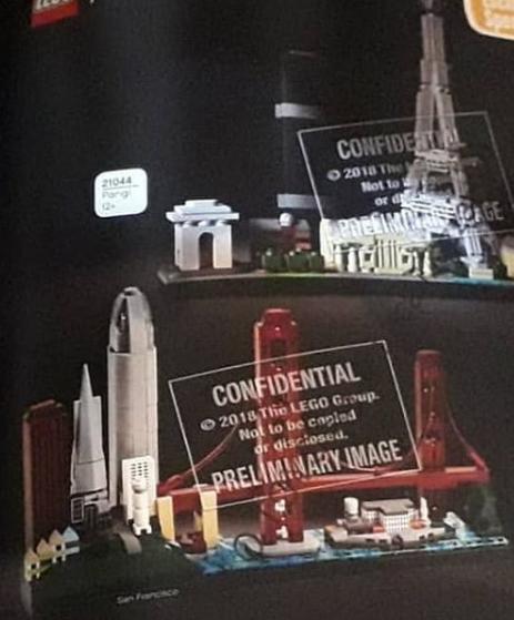 AnJ's Brick Blog: Lego Architecture 2019 Set Images Leaked!