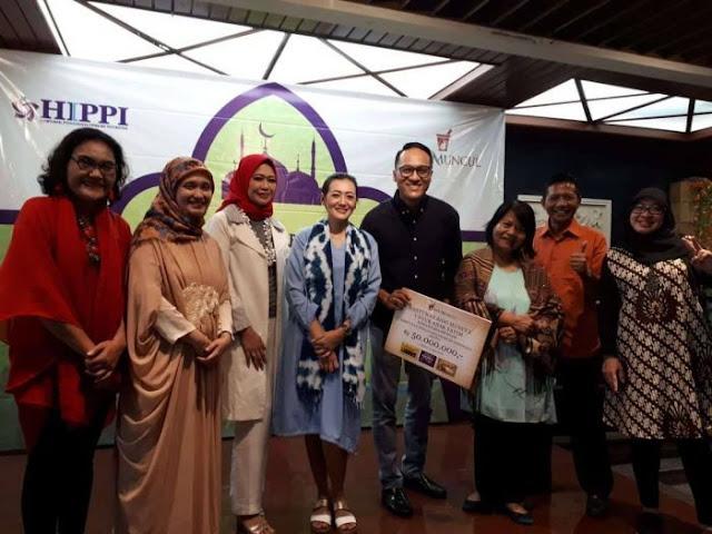 DPP HIPPI Serahkan Santunan untuk 1000 Anak Yatim dan Dhuafa di Jakarta