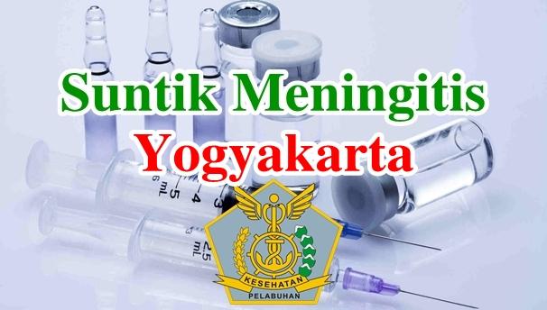Alamat Tempat Suntik Vaksin Meningitis di Yogyakarta
