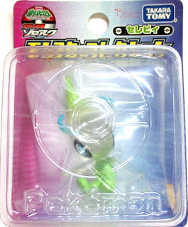Celebi figure clear version Tomy Monster Collection 2010 movie promo