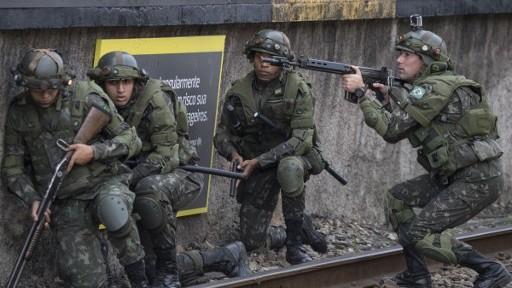 Ejército de Brasil se enfrenta a terroristas musulmanes