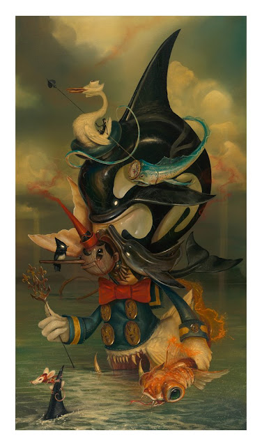 "Beyond The Sea Original Painting by Greg ""Craola"" Simkins"