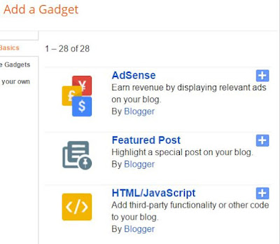 Cara Memasang Widget Featured Post di Blogspot