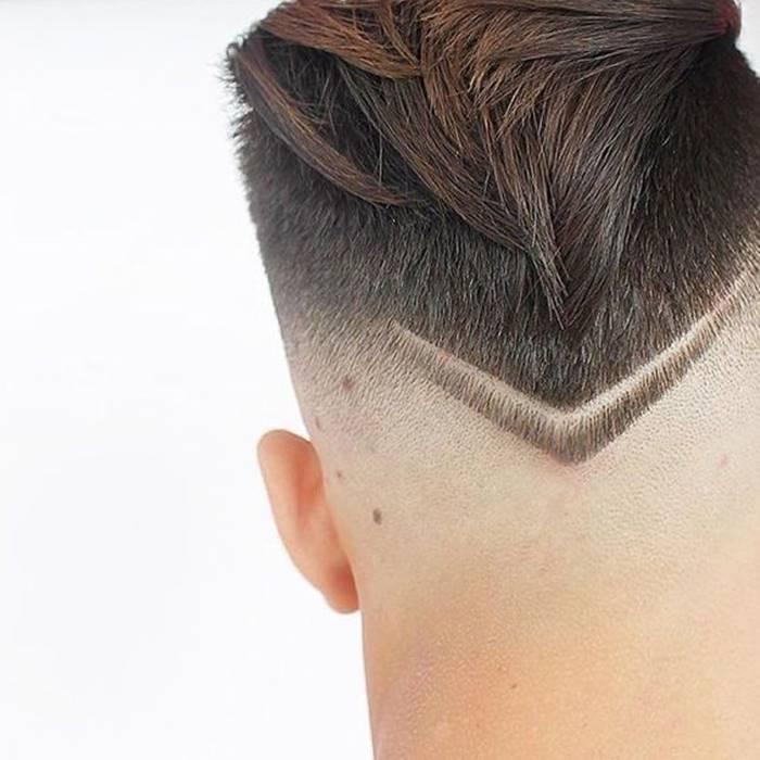 Cortes de cabelo masculino 2020: riscos e desenhos na cabeça e nuca