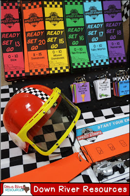 Speed through subitizing and develop number sense with these differentiated sets of Math Speed Strips.