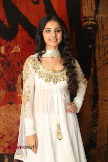 Telugu Actress Mahima Makwana Stills in White Desginer Dress at Venkatapuram Movie Logo Launch  0030.JPG