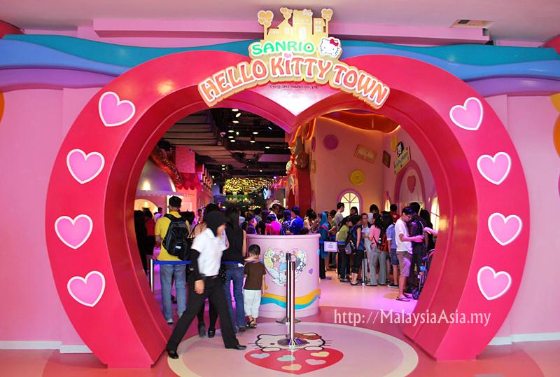 Hello Kitty Town in Malaysia