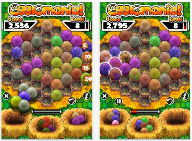تحميل لعبة ترتيب البيض للكمبيوتر برابط مباشر سريع مجانا Download Egg lomania