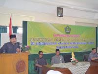 Bintek Penyusunan Penetapan Angka Kredit Guru Di Lingkungan Kemenag Kab. Pati