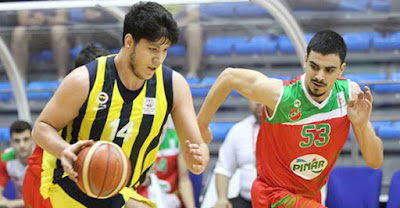 Basketbol Gençler Ligi Fenerbahçe - Pınar Karşıyaka