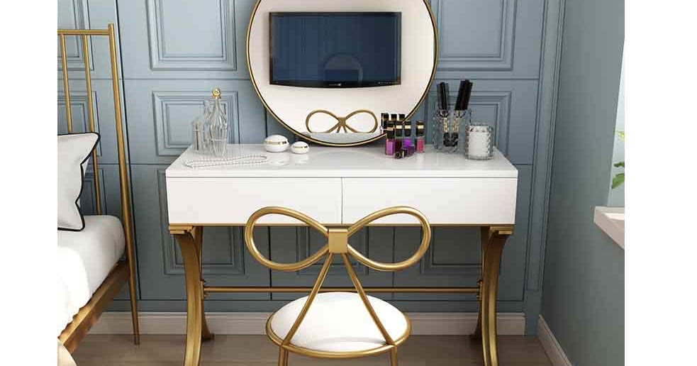 50 Latest small dressing table designs for bedroom interiors ...