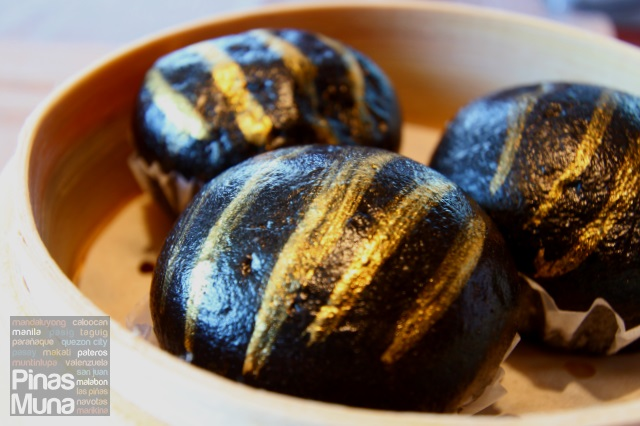 Black Gold Egg Custard Buns